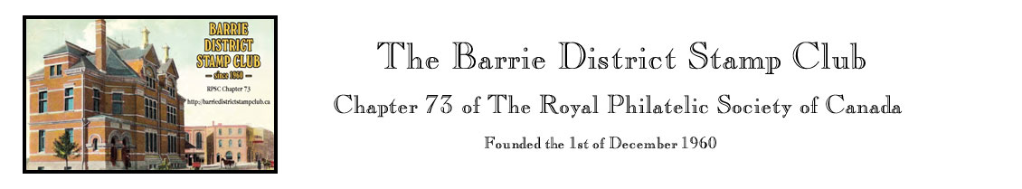 Barrie District Stamp Club